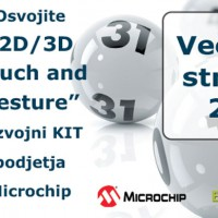 "Osvojite ""2D/3D Touch and Gesture"" razvojni KIT podjetja Microchip"