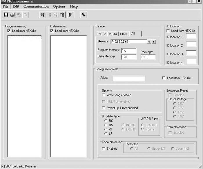Slike PU2 PU2 317b - PIC programator V2.0