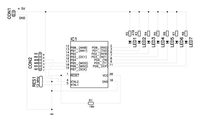 Slike PZBA PZBA 11b - Kratka šola programiranja mikrokontrolerjev