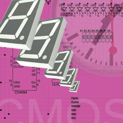 Revija 182 182 44 - Elektronika za začetnike - CMOS logična vezja serije 4000 III (16)