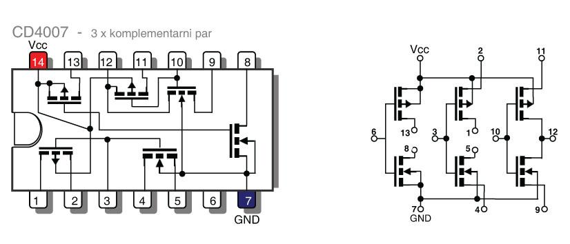 Revija 182 182 44b - Elektronika za začetnike - CMOS logična vezja serije 4000 III (16)