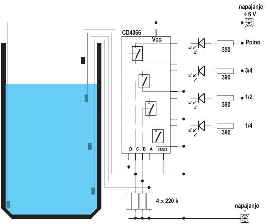 Revija 182 182 44c - Elektronika za začetnike - CMOS logična vezja serije 4000 III (16)