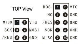avr isp 300x167 - Proggy II AVR programator