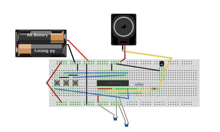 Revija 218 218 45 - Programiranje z Arduino (8) - Varčni Arduino