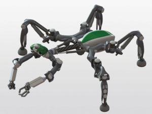SE262 9 04 300x225 - Hitro vrteči se pajek navdihuje novo generacijo robotov