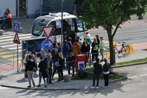 264 8 04 300x200 - Po BTC Cityju Ljubljana prvič z avtonomnim vozilom