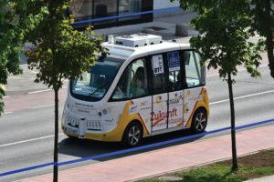 264 8 05 300x200 - Po BTC Cityju Ljubljana prvič z avtonomnim vozilom