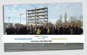 electronica 2016 300x190 - Svet elektronike brezplačno pelje svoje naročnike na ogled sejma electronica München!