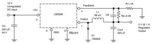 Figure 2 1 300x86 - Maksimiranje pretvorbe navzdol s sinhronimi DC-DC pretvorniki navzdol