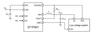 Figure 3 1 300x114 - Maksimiranje pretvorbe navzdol s sinhronimi DC-DC pretvorniki navzdol