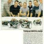 300 7 01 150x150 - Dvajset let organizacije robotskih tekmovanj na UM-FERI